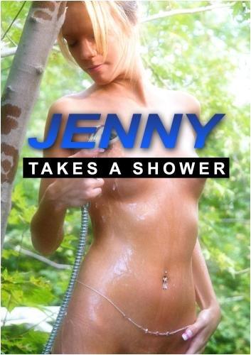 Jenny Takes A Shower