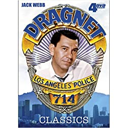 Dragnet Classics V. 1 4-DVD Pack