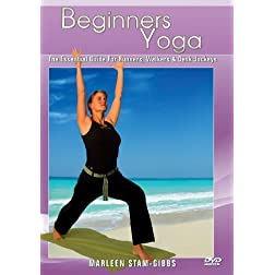 Yoga For Beginners : The Essential Beginner Yoga Guide For Runners, Walkers & Desk Jockeys