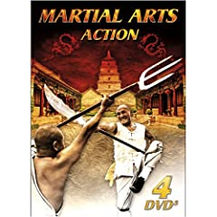 Martial Arts Action 4-DVD Pack