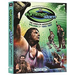 WWE: Summerslam - The Complete Anthology, Vol. 2 1993-1997