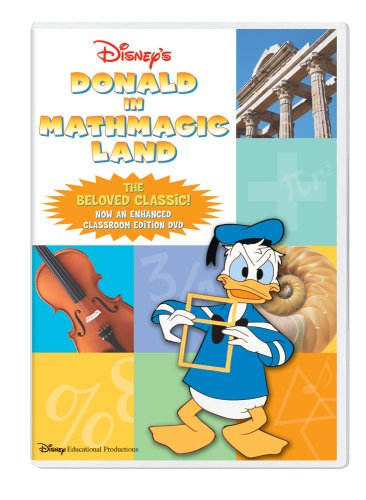 Donald in Mathmagic Land Classroom Edition DVD