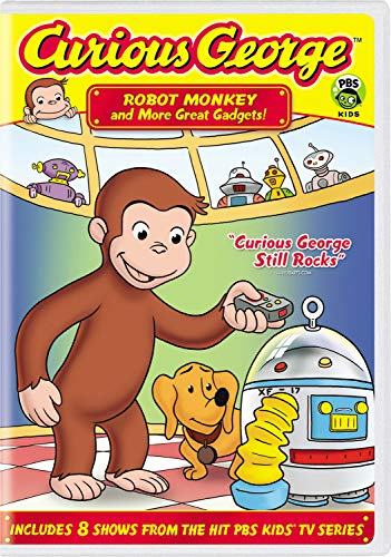Curious George: Robot Monkey and More Great Gadgets