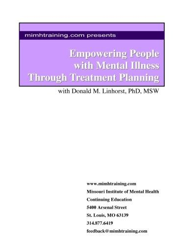 mimhtraining.com presents Empowering People with Mental Illness through Treament Planning