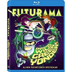 Futurama: Into the Wild Green Yonder [Blu-ray]