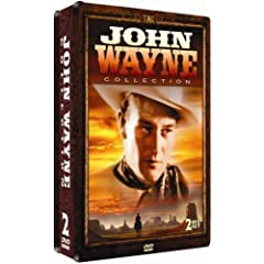 John Wayne 2 DVD Collection - COLLECTORS EDITION EMBOSSED TIN