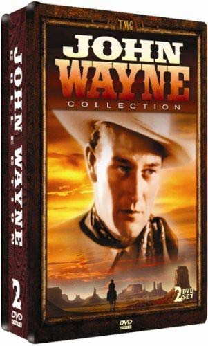 John Wayne 2 DVD Collection - COLLECTORS EDITION EMBOSSED TIN