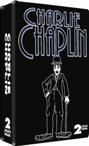 Charlie Chaplin - 2 DVD COLLECTOR'S EMBOSSED TIN SET!