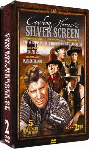 Cowboy Heroes of the Silver Screen - COLLECTOR'S EDITION 2 DVD EMBOSSED TIN