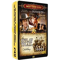 Invasion Of Johnson Country/The Outlaw Trail - 2 DVD Collectors Edition Embossed Tin