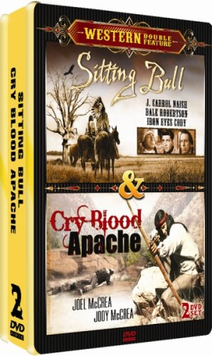 Sitting Bull / Cry Blood Apache - 2 DVD Collector's Edition Embossed Tin