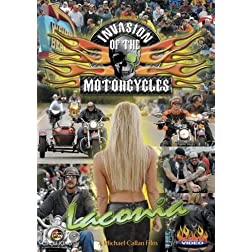 Invasion of the Motorcycles - LaConia Biker Rally