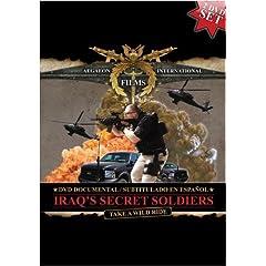 IRAQ'S SECRET SOLDIERS DVD DOCUMENTAL / SUBTITULADO EN ESPA�OL