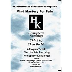 Mind Mastery For Pain (DVD & CD)