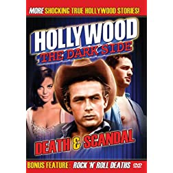Hollywood The Dark Side: Death & Scandal