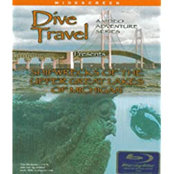 Dive Travel - Shipwrecks of the Upper Great Lakes of Michigan on Blu-ray