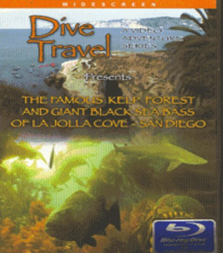 Dive Travel -The Famous Kelp Forest and Giant Black Sea Bass of La Jolla Blu-ray