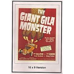 The Giant Gila Monster: 16x9 Widescreen TV.
