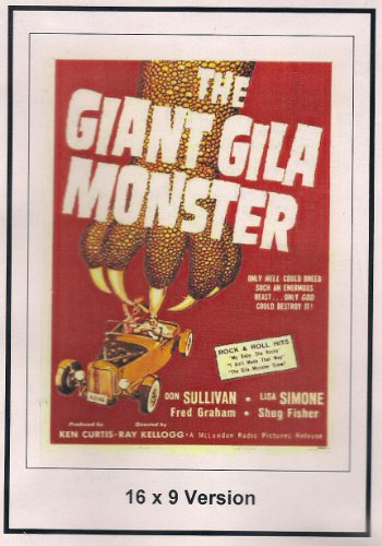 The Giant Gila Monster: 16x9 Widescreen TV.