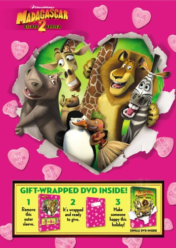 Madagascar - Escape 2 Africa (Full Screen) Wrapped and Ready for Valentine's Day