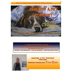 """How to Paint a Pet Animal Portrait in oils """"BELLA"""""""
