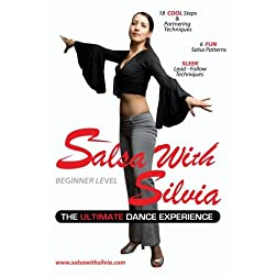 Salsa With Silvia Instructional Dance DVD - Beginner Level