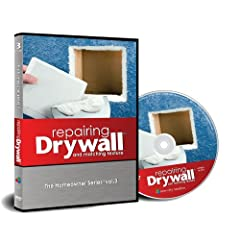 Repairing Drywall and Matching Texture - a drywall repair dvd