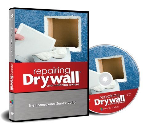 Repairing Drywall and Matching Texture - a drywall repair dvd