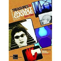 Treasures IV: American Avant-Garde Film, 1947-1986