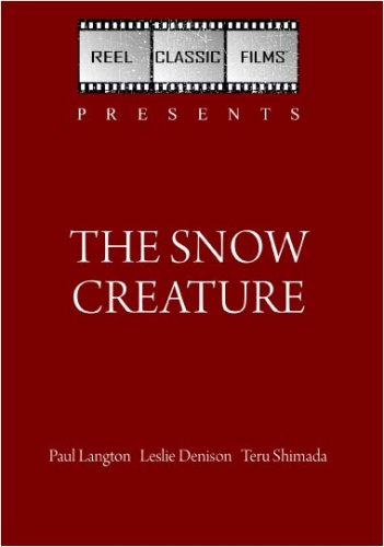 The Snow Creature (1954)