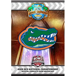 2009 BCS National Championship Game DVD- Florida vs. Oklahoma