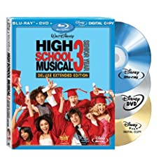 High School Musical 3: Senior Year (Deluxe Extended Edition + Digital Copy + DVD and BD Live) [Blu-ray]