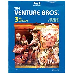 The Venture Bros.: Season Three [Blu-ray]