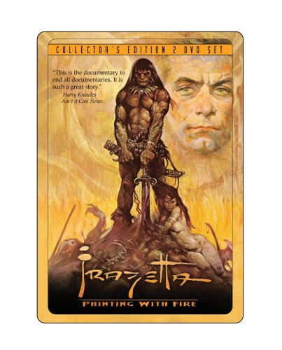 Frazetta Painting With Fire (Collectors Anniversary Edition)