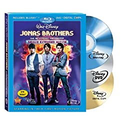 Jonas Brothers: The 3-D Concert Experience (Blu-ray/DVD Combo w/ BD Live + Digital Copy) [Blu-ray]