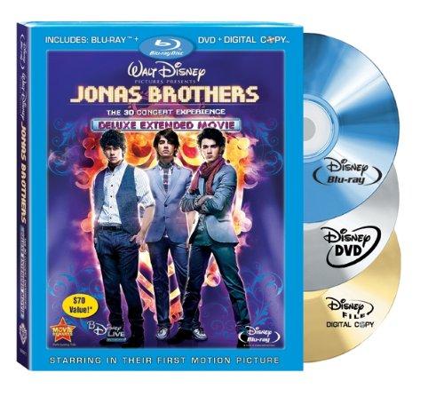 Jonas Brothers: The 3-D Concert Experience (Blu-ray/DVD Combo w/ BD Live + Digital Copy) [Blu-ray]