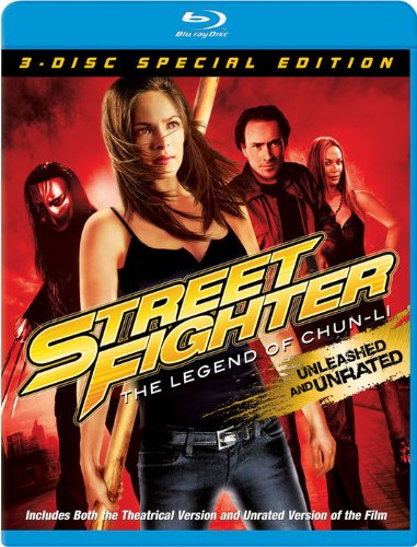Street Fighter: The Legend of Chun-Li (Three-Disc Special Edition) [Blu-ray]