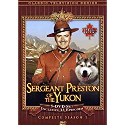 Sergeant Preston of the Yukon: Complete Season 1