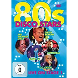 80s Disco Stars Live on Stage 1
