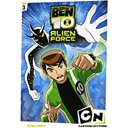 Ben 10 Alien Force: Season One, Vol. 3