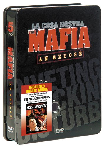 Cosa Nostra Mafia an Expose (6pc) (Bond Box Tin)