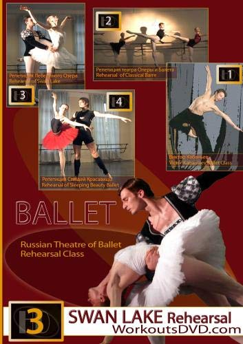 Swan Lake Ballet Rehearsal Russian State Theatre