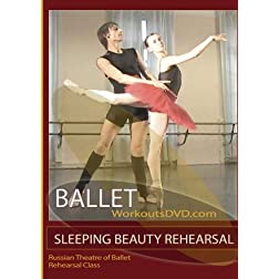 Sleeping Beauty Ballet Rehearsal Russian State Theatre