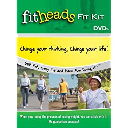 FitHeads Fit Kit: Get Fit, Stay Fit, and Have Fun Doing It!