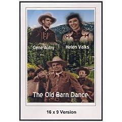 The Old Barn Dance 16x9 Widescreen TV.