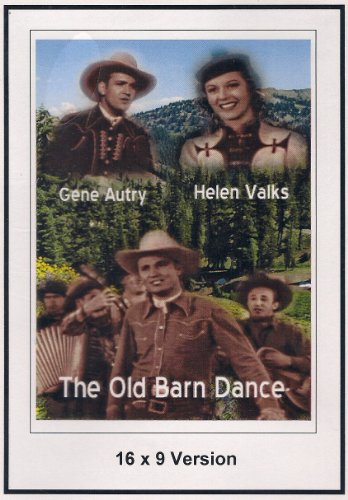 The Old Barn Dance 16x9 Widescreen TV.