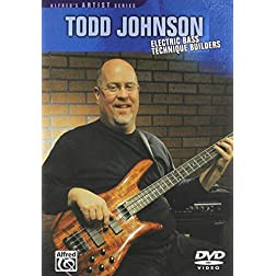 Todd Johnson: Electric Bass Technique Builders
