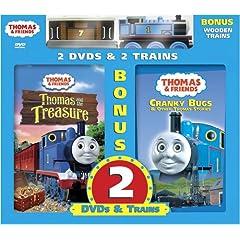 Thomas & Friends: Thomas and the Treasure/Cranky Bugs
