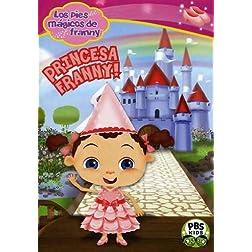 Los pies màgicos de Franny: Princesa Franny