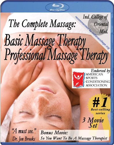 Complete Massage Pack plus Free Relaxation Music CD: Basic & Professional Massage Therapy plus free bonus movie So, You Want To Be A Massage Therapist (3 movie /1 CD) [Blu-ray]